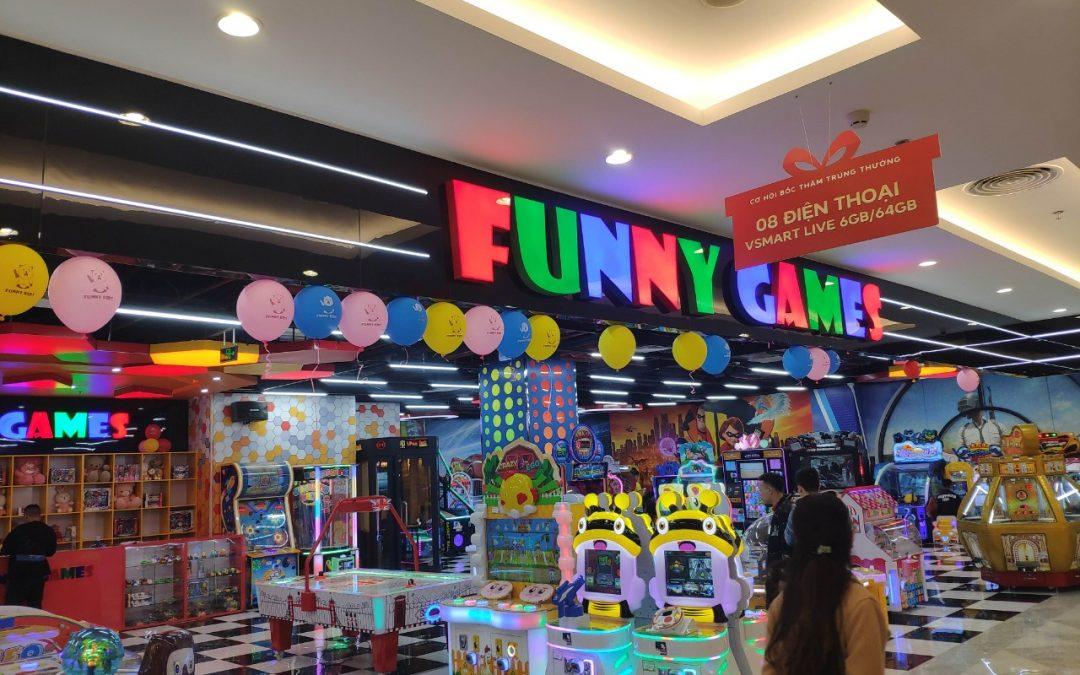 Hoàn thành hạng mục: FUNNY KIDS & FUNNY GAMES – CẨM PHẢ